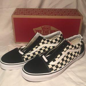 Vans Men's Checkered Lace-up Classics